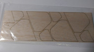 Semroc Laser-Cut Fins Aries™   1/16 Balsa SEM-FES-P009 *