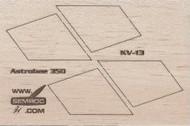 Semroc Laser-Cut Fins Astrobee 350™   SEM-FV-13 *