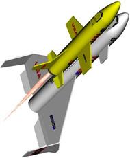 Semroc Flying Model Rocket Kit Space Shuttle KV-38