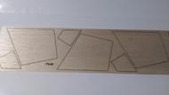 Semroc Laser-Cut Fins Blue Bird Zero   1/8 Balsa SEM-FV-45 *