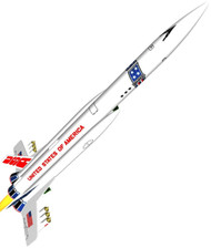 Semroc Flying Model Rocket Kit USS America  SEM-KV-77