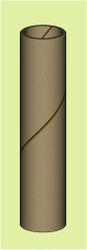 "Semroc Empty Casing .5"" x 1.75""   SEM-MC-517 *"