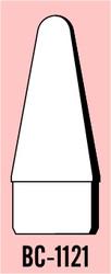 """Semroc Balsa Nose Cone #11 2.1"""" Rounded Cone   SEM-BC-1121 *"""