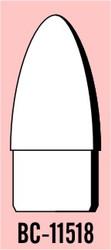 "Semroc Balsa Nose Cone #115 1.8"" Elliptical   SEM-BC-11518 *"