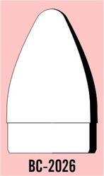 "Semroc Balsa Nose Cone #20 2.6"" Bezier   SEM-BC-2026 *"