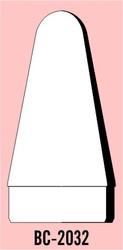 """Semroc Balsa Nose Cone #20 3.2"""" Rounded Cone   SEM-BC-2032 *"""