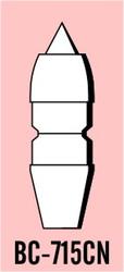 """Semroc Balsa Nose Cone #7 1.6"""" Cone-Nozzle Set   SEM-BC-715CN *"""