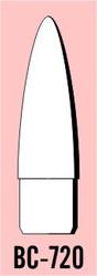 "Semroc Balsa Nose Cone #7 2.0"" Elliptical   SEM-BC-720 *"