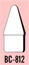 """Semroc Balsa Nose Cone #8 1.2"""" Conical   SEM-BC-812 *"""