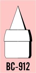 "Semroc Balsa Nose Cone #9 1.2"" Ram Jet   SEM-BC-912 *"