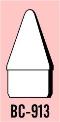 "Semroc Balsa Nose Cone #9 1.3"" Ogive   SEM-BC-913 *"