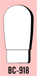 """Semroc Balsa Nose Cone #9 1.8"""" Round   SEM-BC-918 *"""