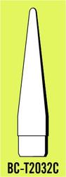 """Semroc Balsa Nose Cone T20 3.2"""" Conical   SEM-BC-T2032C *"""