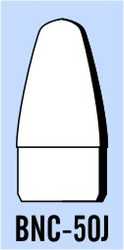 "Semroc Balsa Nose Cone BT-50 1.37"" Elliptical   SEM-BNC-50J *"