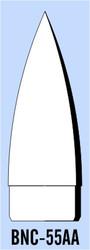 "Semroc Balsa Nose Cone BT-55 3.1"" Ogive   SEM-BNC-55AA *"