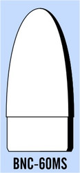 "Semroc Balsa Nose Cone BT-60 2.6"" Elliptical   SEM-BNC-60MS *"