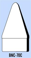 "Semroc Balsa Nose Cone BT-70 2.5"" Rounded Cone   SEM-BNC-70C *"