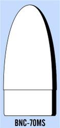 "Semroc Balsa Nose Cone BT-70 3.5"" Elliptical   SEM-BNC-70MS *"