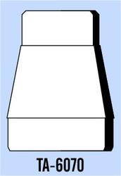 Semroc Balsa Tube Adapter BT-60 to BT-70   SEM-TA-6070 *