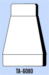 Semroc Balsa Tube Adapter BT-60 to BT-80   SEM-TA-6080 *