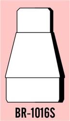 Semroc Balsa Reducer #10 to #16 Short   SEM-BR-1016S *