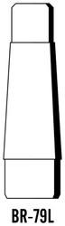 Semroc Balsa Reducer #7 to #9 Long   SEM-BR-79L *