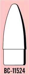 "Semroc Balsa Nose Cone #115 3.4"" Ogive   SEM-BC-11534 *"