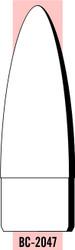 "Semroc Balsa Nose Cone #20 4.7"" Elliptical   SEM-BC-2047 *"