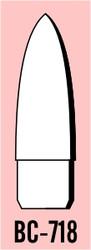 "Semroc Balsa Nose Cone #7 1.8"" Ogive   SEM-BC-718 *"