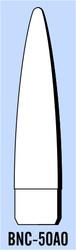 "Semroc Balsa Nose Cone BT-50 3.7"" Elliptical   SEM-BNC-50AO *"