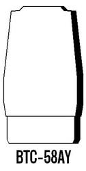 "Semroc Balsa Tail Cone BT-58 3.9"" Ogive   SEM-BTC-58AY *"