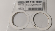 Semroc Centering Ring Set #115 to #16 (2 ring set)   SEM-CR-115-16EH *