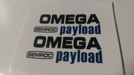 Semroc Decal - Omega Payload™   SEM-DKM-4 *