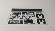 Semroc Decal - Goblin™   SEM-DKV-80 *