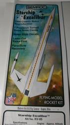 Semroc  Instructions - Starship Excalibur™ (Four Color Illustrated Instructions)   SEM-IKV-85 *