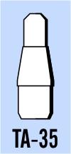 """Semroc Balsa Tube Adapter BT-3 to BT-5 - length 1/2""""   SEM-TA-35 *"""