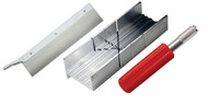 Excel Miter Box Set w/#5 Handle & Blade  55666