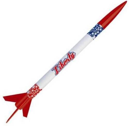 Custom Flying Model Rocket Kit Liberty 10045