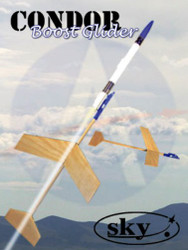Sky Flying Model Rocket Kit Condor Boost Glider  7156*