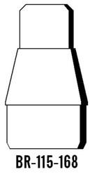 Semroc Balsa Reducer #115 to #168   SEM-BR-115-168 * Special