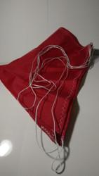 "Semroc Parachute Rip Stop Nylon 24"" Red (Top Flight Recovery)  SEM-PN-24R *"