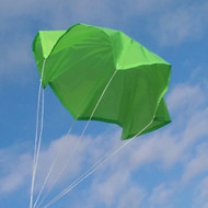 "Top Flight Parachute Neon Green 12"" Rip Stop Nylon  PAR-12"