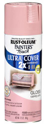 Rustoleum Painters Touch 2X Gloss Candy Pink Paint & Primer 12oz  Spray Paint 18773 *