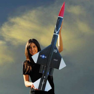 Mad Cow Flying Model Rocket Kit Bomarc 2.6''