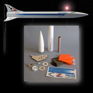 Mad Cow Flying Model Rocket Kit Solar Express 2.6''