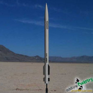Mad Cow Flying Model Rocket Kit PAC-3 4''