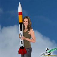 Mad Cow Flying Model Rocket Kit Patriot 4'' (38mm)