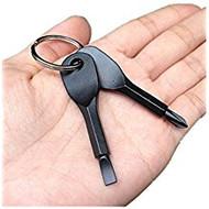 eRockets Screw Drivers on a Key Chain Black  eR9086 *