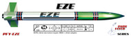"LOC Precision Flying Model Rocket Kit 1.63"" EZE  PFY-EZE"