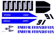 Semroc Decal - Orbital Interceptor™   SEM-DES-1359 *